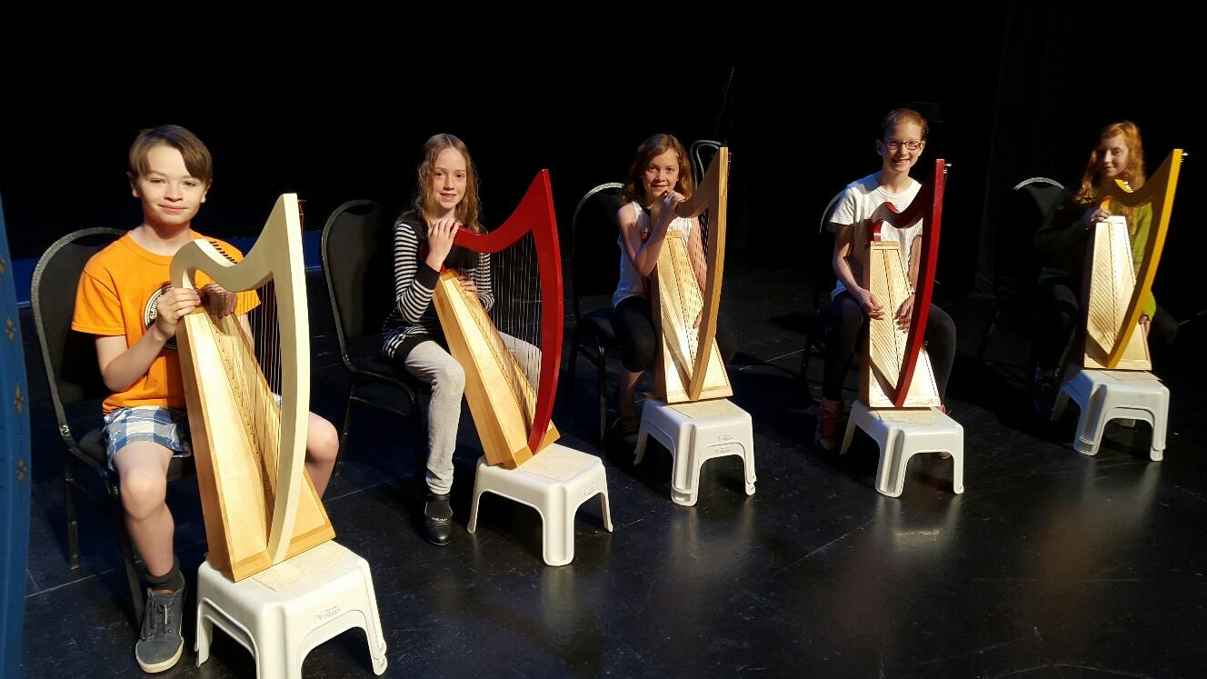 Elements Exploration Harpists